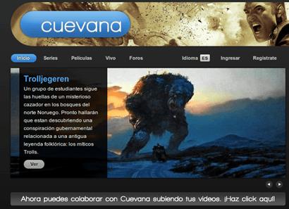 Cuevana para Android iPhone