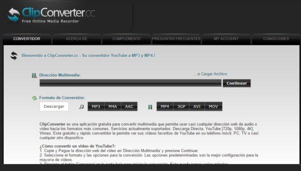descargar-videos-youtube-sin-programas-clipconverter
