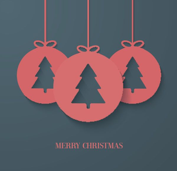 Tarjetas de navidad arbol