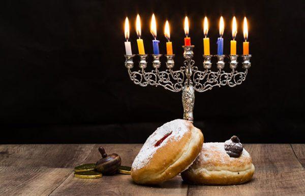 Las mejores fotos de feliz hanukkah para enviar por whatsapp y email con dulces