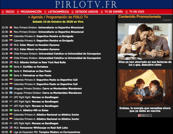 Roja Directa iPad Pirlo tv