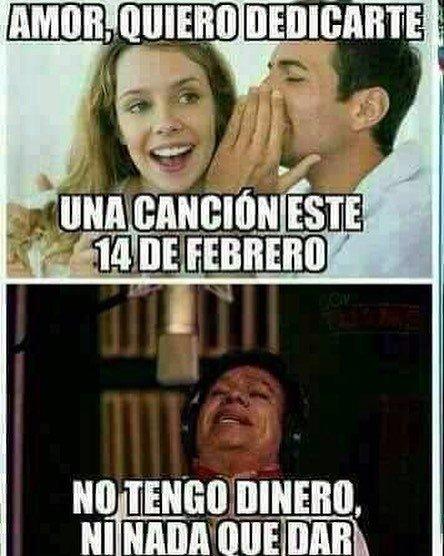 Meme San Valentín canción