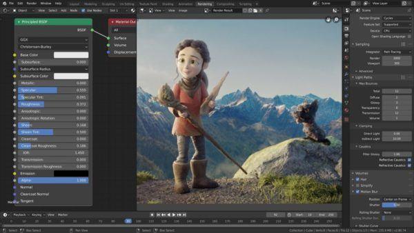 ¿Cuáles son los mejores programas para editar vídeos en 2021? Blender