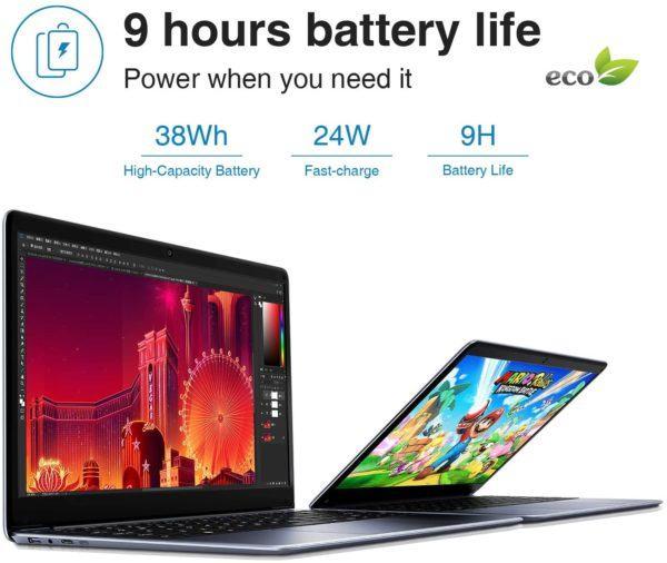 Mejores ordenadores portátiles 2021 en relación calidad precio Chuwi HeroBook Pro