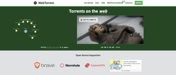 Los mejores programas para descargar películas 2021 WebTorrent