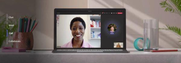 Como crear programar reuniones en teams chat videollamada