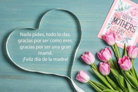 Los mejores mensajes frases para el dia de la madre 2021 frase dentro corazon