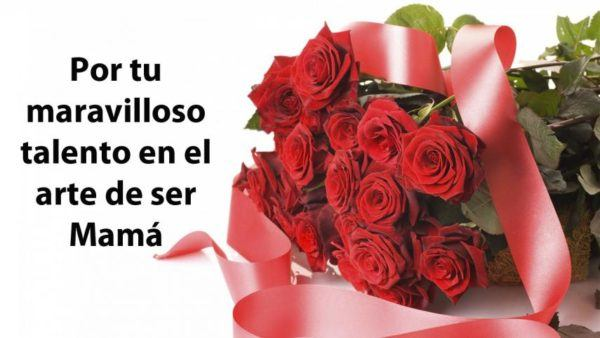 Los mejores mensajes frases para el dia de la madre 2021 rosas
