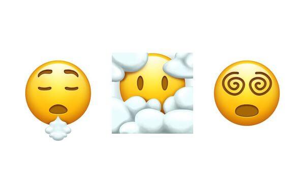 Nuevos emojis para 2022 caritas