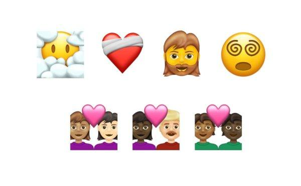 Nuevos emojis para 2022 parejas