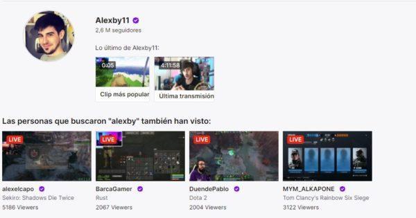 Cuales son los mejores canales de twitch en habla hispana ALEXBY11