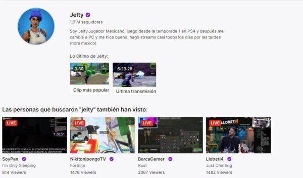 Cuales son los mejores canales de twitch en habla hispana JELTY