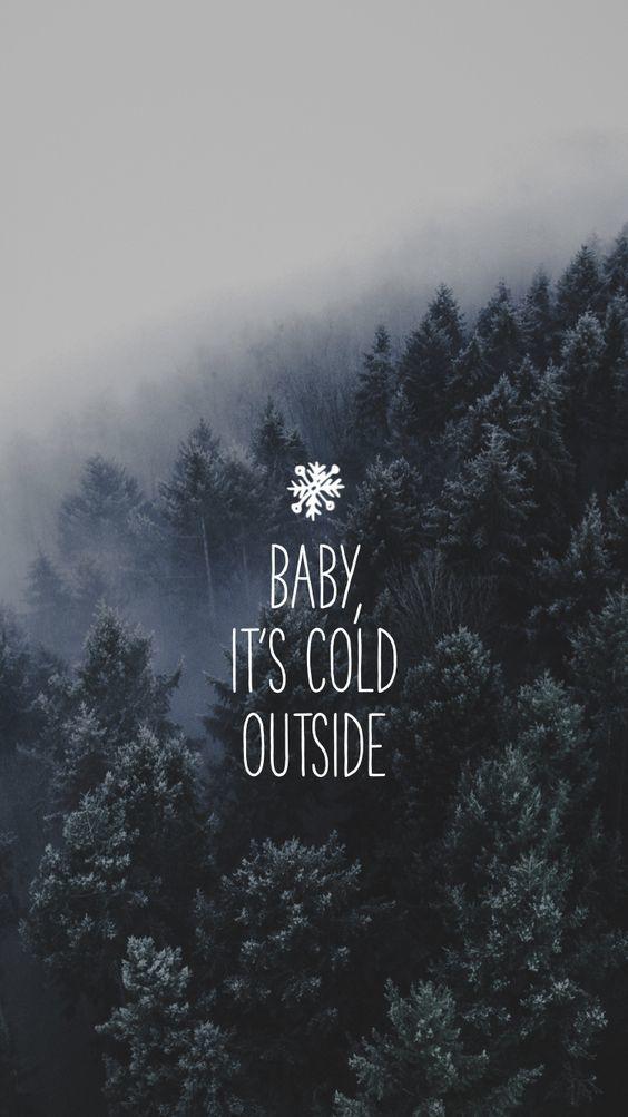 Las mejores frases de Invierno para Instagram 2022 outside