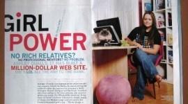 Ashley Qualls, propietaria de whateverlife.com a sus 17 años de edad ya es millonaria