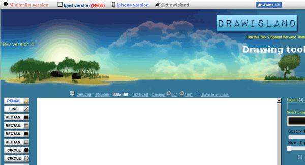 programas-gratuitos-para-hacer-dibujos-y-diagramas-drawisland