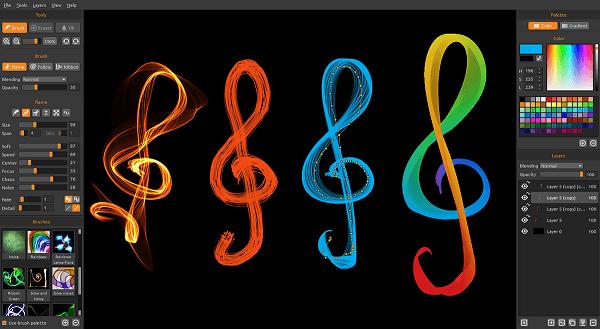 programas-gratuitos-para-hacer-dibujos-y-diagramas-flame-painter