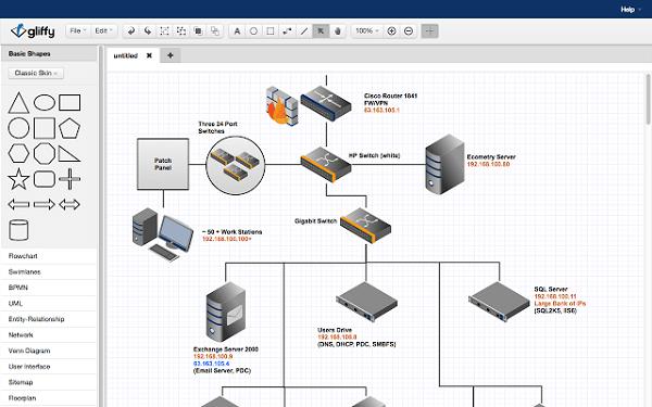 programas-gratuitos-para-hacer-dibujos-y-diagramas-gliffy