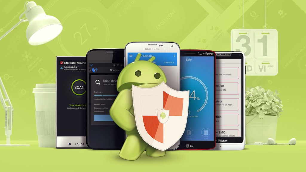 como-descargar-antivirus-para-android-muneco-android-escudo-moviles