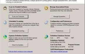 Eliminar spyware con SuperAntiSpyware