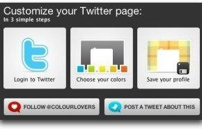 Personalizar Twitter con Themeleon