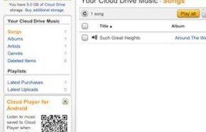 Amazon Cloud Player para iOS