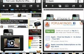 SkyFire navegador web iOS