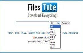 Buscador de archivos | FilesTube