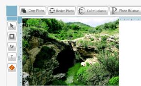Retoque fotografico online con Live Photo Editor