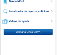 Aplicación iPhone gratuita para BBVA
