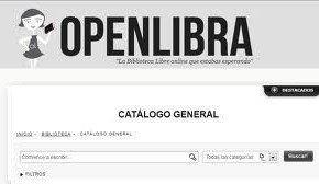 Libros en OpenLibra