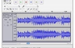 Editar audio con Audacity
