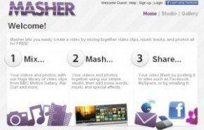 Crear videos con imagenes utilizando Masher