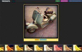 Agregar efectos a imágenes con 99Colors