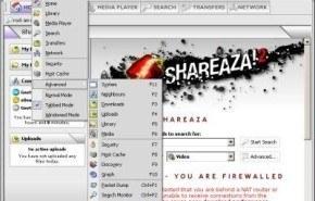 Descargar archivos con Shareaza