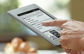 Kindle Touch llega a España