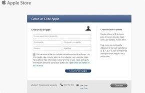 Crear cuenta de Apple ¿Como hacerlo?