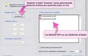 Cómo puedes combinar más de un archivo PDF y unirlos en un sólo documento