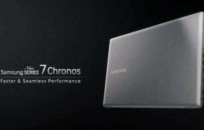 Samsung lanza los portátiles Serie 7 Chronos y Ultra