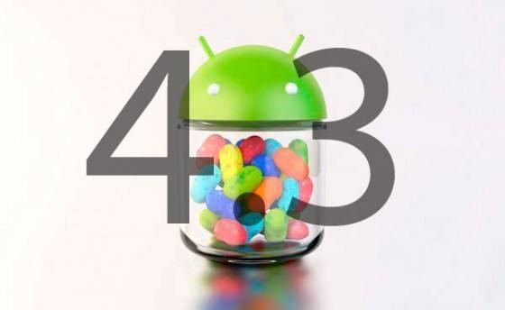 Primeras imágenes Android 4.3 Jelly Bean