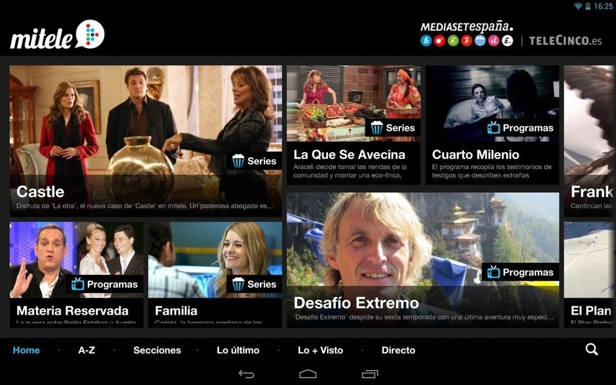 Ver Telecinco en Directo en Android - Techlosofy.com