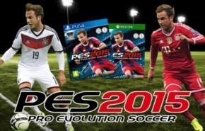 Descargar Pro Evolution Soccer 2015 gratis (PES2015)