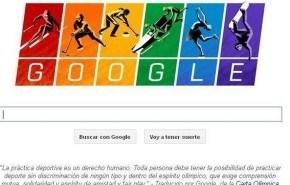 Doodle de Google | Olimpiadas de Sochi: Carta olímpica y deporte sin discriminación