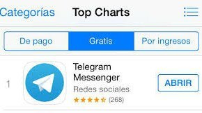 Telegram para iPad y tablet