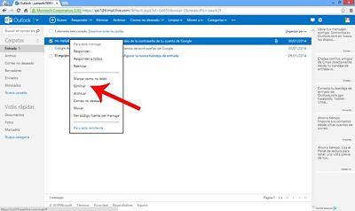 como-borrar-eliminar-mensajes-en-outlook-hotmail-clic-eliminar