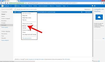 como-borrar-eliminar-mensajes-en-outlook-hotmail-dentro-carpeta-eliminados-eliminar-mensaje