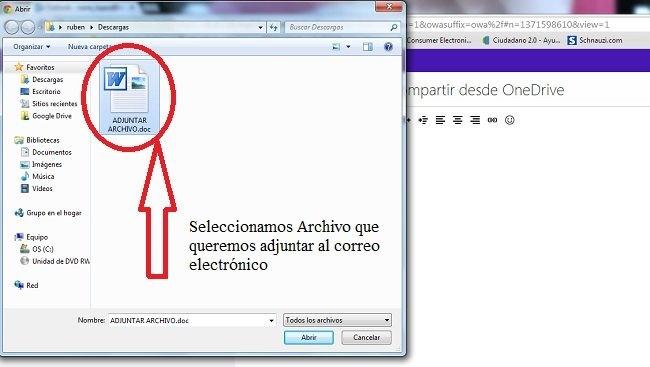 como-enviar-un-correo-electronico-desde-hotmail-outlook-insertando-adjuntando-archivos-imagenes-y-compartir-desde-onedrive-seleccionamos-archivo-para-insertar