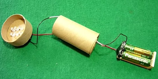 lampara led carton