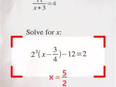 Descargar PhotoMath | Una aplicación que resuelve problemas de matemáticas