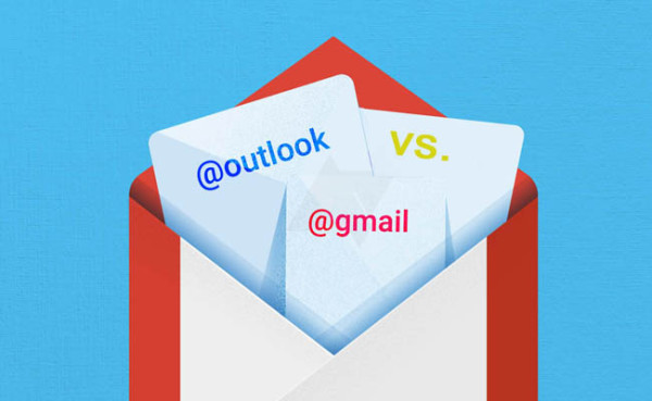 Diferencias Gmail Outlook