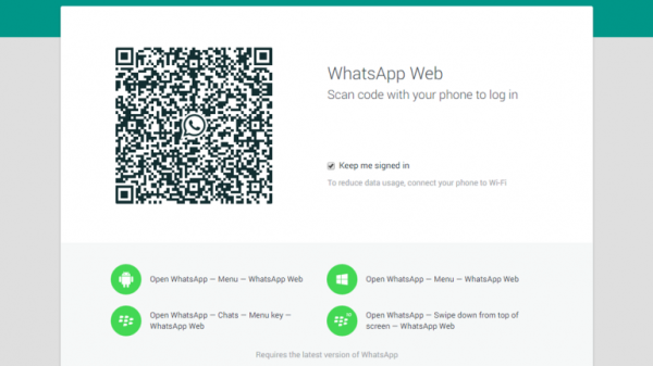 whatsapp web codigo